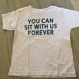 """""""You can sit with us"""" T-shirt"""